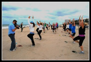 Beach Boot Camp WSFL-TV Harbor Beach Marriott