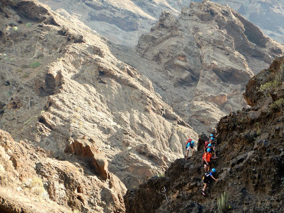 The hiking terrain here be like... Photo: Canyon Tenerife